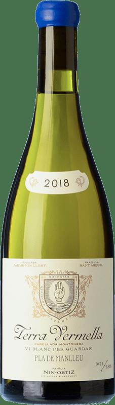 43,95 € Envío gratis | Vino blanco Nin-Ortiz Terra Vermella Crianza España Parellada Montonega Botella 75 cl