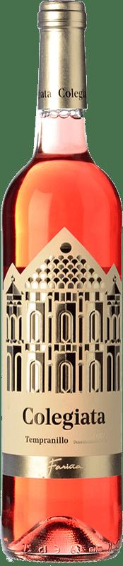 6,95 € Envío gratis | Vino rosado Fariña Colegiata Joven D.O. Toro Castilla y León España Tinta de Toro Botella 75 cl