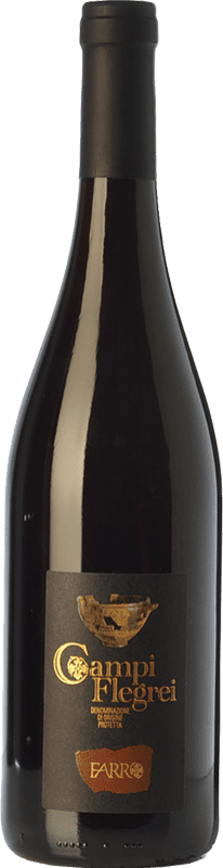9,95 € | Red wine Farro D.O.C. Campi Flegrei Campania Italy Piedirosso Bottle 75 cl
