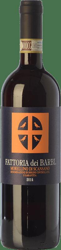 14,95 € 免费送货 | 红酒 Fattoria dei Barbi D.O.C.G. Morellino di Scansano 托斯卡纳 意大利 Merlot, Sangiovese 瓶子 75 cl
