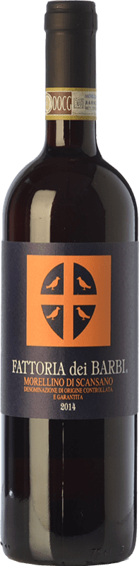 14,95 € Envío gratis | Vino tinto Fattoria dei Barbi D.O.C.G. Morellino di Scansano Toscana Italia Merlot, Sangiovese Botella 75 cl