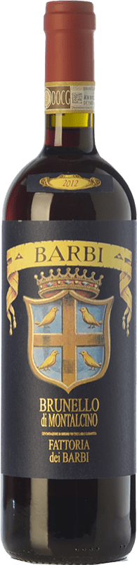 41,95 € Envoi gratuit | Vin rouge Fattoria dei Barbi D.O.C.G. Brunello di Montalcino Toscane Italie Sangiovese Bouteille 75 cl