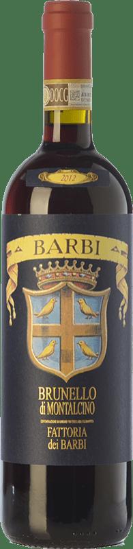 41,95 € Envío gratis | Vino tinto Fattoria dei Barbi D.O.C.G. Brunello di Montalcino Toscana Italia Sangiovese Botella 75 cl