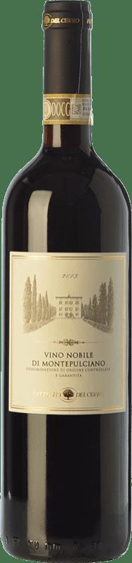 15,95 € Free Shipping | Red wine Fattoria del Cerro D.O.C.G. Vino Nobile di Montepulciano Tuscany Italy Sangiovese Bottle 75 cl