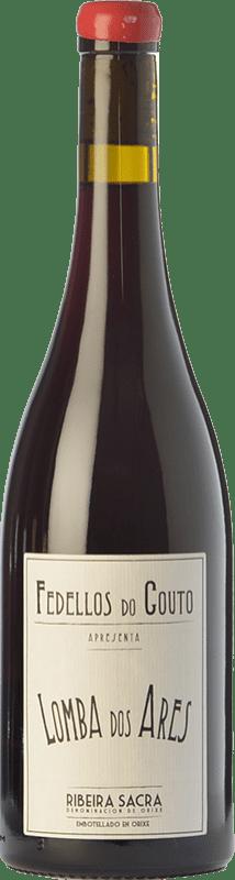 19,95 € | Red wine Fedellos do Couto Lomba dos Ares Crianza D.O. Ribeira Sacra Galicia Spain Mencía, Grenache Tintorera, Mouratón, Caíño Black, Merenzao Bottle 75 cl