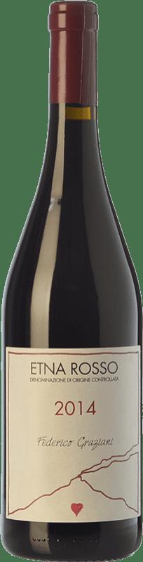 26,95 € Free Shipping   Red wine Federico Graziani Rosso D.O.C. Etna Sicily Italy Grenache, Nerello Mascalese, Nerello Cappuccio Bottle 75 cl