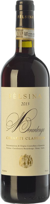16,95 € | Red wine Fèlsina D.O.C.G. Chianti Classico Tuscany Italy Sangiovese Bottle 75 cl