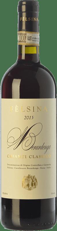 14,95 € Envoi gratuit | Vin rouge Fèlsina D.O.C.G. Chianti Classico Toscane Italie Sangiovese Bouteille Magnum 1,5 L
