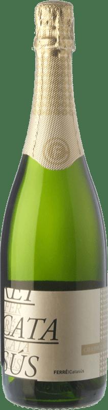 9,95 € Envoi gratuit | Blanc moussant Ferré i Catasús Brut Nature Reserva D.O. Cava Catalogne Espagne Macabeo, Xarel·lo, Chardonnay, Parellada Bouteille 75 cl