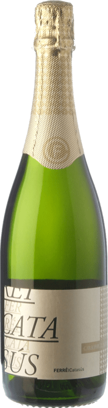 9,95 € Free Shipping | White sparkling Ferré i Catasús Brut Nature Reserva D.O. Cava Catalonia Spain Macabeo, Xarel·lo, Chardonnay, Parellada Bottle 75 cl
