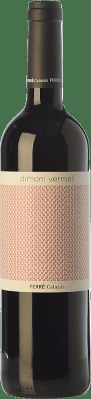 9,95 € Envoi gratuit | Vin rouge Ferré i Catasús Dimoni Vermell Joven D.O. Terra Alta Catalogne Espagne Tempranillo, Syrah, Grenache, Carignan Bouteille 75 cl
