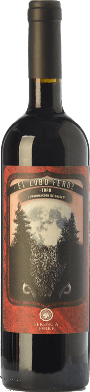 9,95 € Free Shipping | Red wine Ferré i Catasús El Lobo Feroz Joven D.O. Toro Castilla y León Spain Tinta de Toro Bottle 75 cl