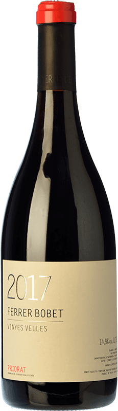 36,95 € Free Shipping | Red wine Ferrer Bobet Vinyes Velles Crianza D.O.Ca. Priorat Catalonia Spain Grenache, Carignan Bottle 75 cl