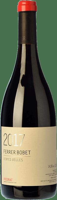 36,95 € Envío gratis | Vino tinto Ferrer Bobet Vinyes Velles Crianza D.O.Ca. Priorat Cataluña España Garnacha, Cariñena Botella 75 cl