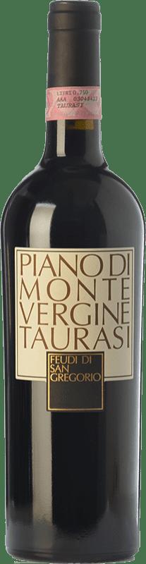 48,95 € Envío gratis | Vino tinto Feudi di San Gregorio Piano di Montevergine D.O.C.G. Taurasi Campania Italia Aglianico Botella 75 cl