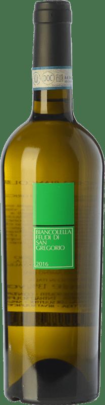 16,95 € Envío gratis | Vino blanco Feudi di San Gregorio D.O.C. Ischia Campania Italia Biancolella Botella 75 cl