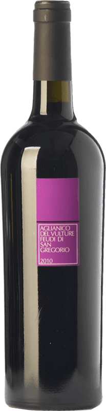 15,95 € | Red wine Feudi di San Gregorio D.O.C. Aglianico del Vulture Basilicata Italy Aglianico Bottle 75 cl