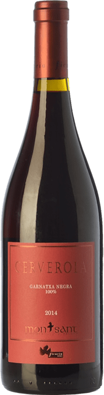34,95 € | Red wine Ficaria Cerverola Crianza D.O. Montsant Catalonia Spain Grenache Bottle 75 cl
