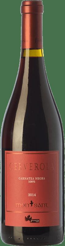 34,95 € Envío gratis | Vino tinto Ficaria Cerverola Crianza D.O. Montsant Cataluña España Garnacha Botella 75 cl