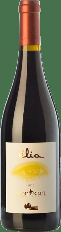 17,95 € Envío gratis | Vino tinto Ficaria Èlia Crianza D.O. Montsant Cataluña España Syrah, Garnacha, Cabernet Sauvignon Botella 75 cl