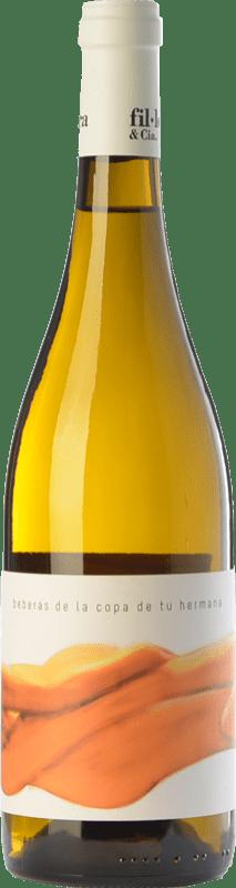 15,95 € Free Shipping   White wine Fil'Oxera Beberás de la Copa de tu Hermana Crianza D.O. Valencia Valencian Community Spain Monastrell, Macabeo, Subirat Parent Bottle 75 cl