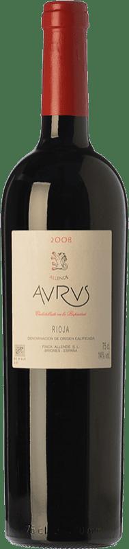 316,95 € Envío gratis | Vino tinto Allende Aurus Reserva 1996 D.O.Ca. Rioja La Rioja España Tempranillo, Graciano Botella Mágnum 1,5 L