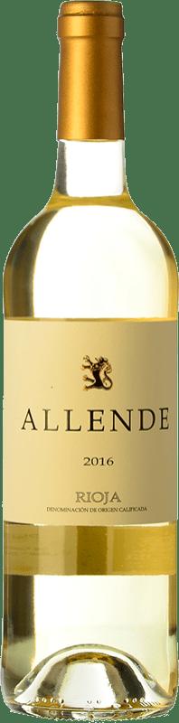 19,95 € Envío gratis | Vino blanco Allende Crianza D.O.Ca. Rioja La Rioja España Viura, Malvasía Botella 75 cl