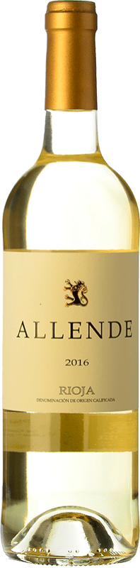 19,95 € Free Shipping | White wine Allende Crianza D.O.Ca. Rioja The Rioja Spain Viura, Malvasía Bottle 75 cl