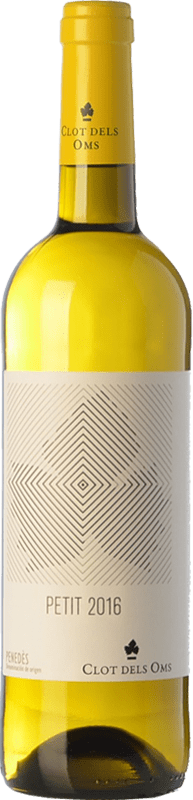 5,95 € Envío gratis | Vino blanco Ca N'Estella Petit Clot dels Oms Blanc Joven D.O. Penedès Cataluña España Macabeo, Xarel·lo Botella 75 cl