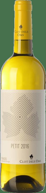 5,95 € Free Shipping | White wine Ca N'Estella Petit Clot dels Oms Blanc Joven D.O. Penedès Catalonia Spain Macabeo, Xarel·lo Bottle 75 cl
