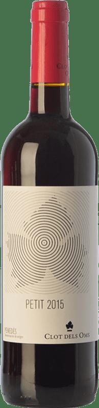 5,95 € Envoi gratuit | Vin rouge Ca N'Estella Petit Clot dels Oms Negre Joven D.O. Penedès Catalogne Espagne Merlot, Cabernet Sauvignon Bouteille 75 cl