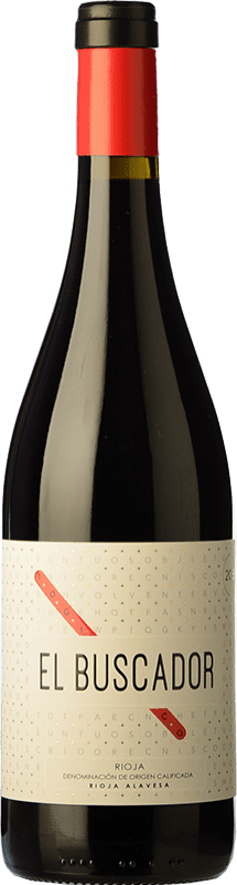 11,95 € | Red wine Finca de la Rica El Buscador Crianza D.O.Ca. Rioja The Rioja Spain Tempranillo, Grenache Bottle 75 cl