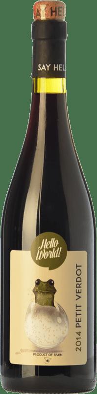 5,95 € Envío gratis   Vino tinto Finca La Estacada Hello World Joven I.G.P. Vino de la Tierra de Castilla Castilla la Mancha España Petit Verdot Botella 75 cl