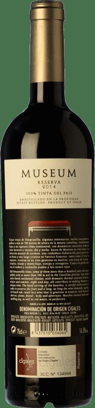 12,95 € Free Shipping | Red wine Museum Reserva D.O. Cigales Castilla y León Spain Tempranillo Magnum Bottle 1,5 L