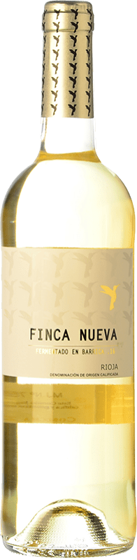 9,95 € Envoi gratuit | Vin blanc Finca Nueva Fermentado en Barrica Crianza D.O.Ca. Rioja La Rioja Espagne Viura Bouteille 75 cl