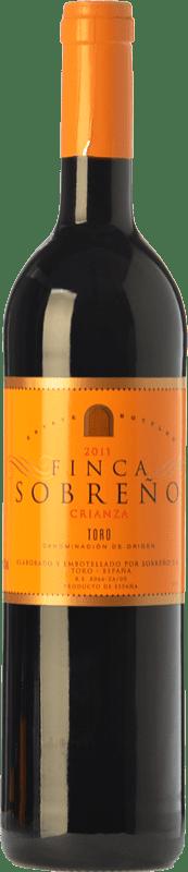 9,95 € | Red wine Finca Sobreño Crianza D.O. Toro Castilla y León Spain Tinta de Toro Bottle 75 cl
