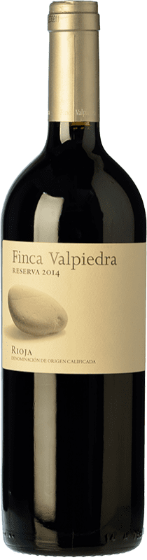 18,95 € | Red wine Finca Valpiedra Reserva D.O.Ca. Rioja The Rioja Spain Tempranillo, Graciano, Maturana Tinta Bottle 75 cl