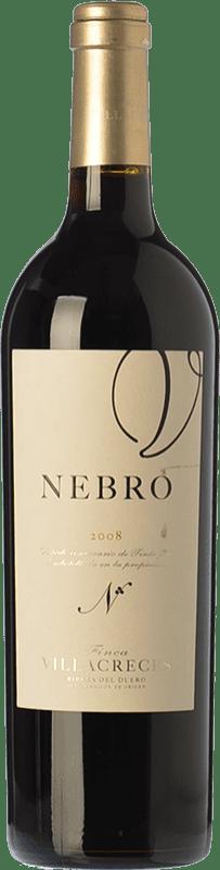 144,95 € | Red wine Finca Villacreces Nebro Crianza 2011 D.O. Ribera del Duero Castilla y León Spain Tempranillo, Merlot, Cabernet Sauvignon Bottle 75 cl