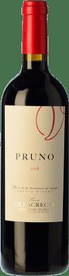 9,95 € | Red wine Finca Villacreces Pruno Crianza D.O. Ribera del Duero Castilla y León Spain Tempranillo, Cabernet Sauvignon Bottle 75 cl
