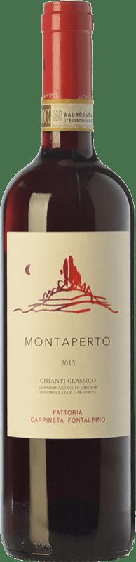 35,95 € Free Shipping | Red wine Fontalpino Selezione Montaperto D.O.C.G. Chianti Classico Tuscany Italy Sangiovese Bottle 75 cl