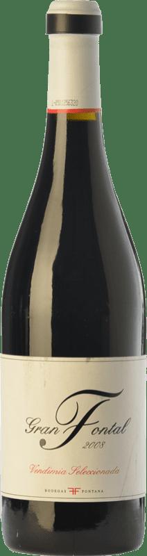 12,95 € | Red wine Fontana Gran Fontal Reserva I.G.P. Vino de la Tierra de Castilla Castilla la Mancha Spain Tempranillo Bottle 75 cl