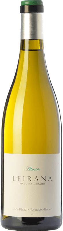 35,95 € Envoi gratuit | Vin blanc Forjas del Salnés Leirana Ma. Luisa Lázaro D.O. Rías Baixas Galice Espagne Albariño Bouteille 75 cl