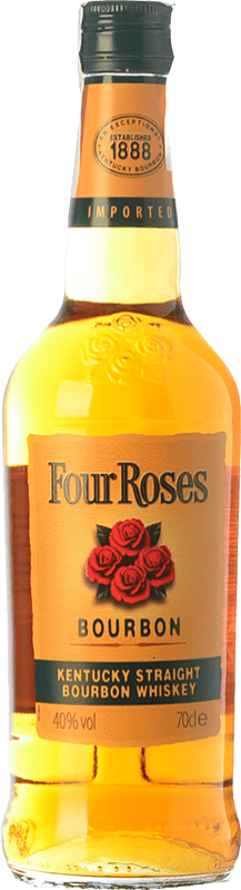 17,95 € | Bourbon Four Roses Kentucky United States Bottle 70 cl