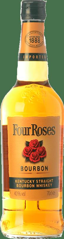 17,95 € 免费送货   波旁酒 Four Roses 肯塔基 美国 瓶子 70 cl