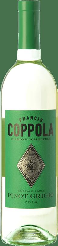 23,95 € 免费送货   白酒 Francis Ford Coppola Diamond Pinot Grigio I.G. California 加州 美国 Sauvignon White, Pinot Grey 瓶子 75 cl