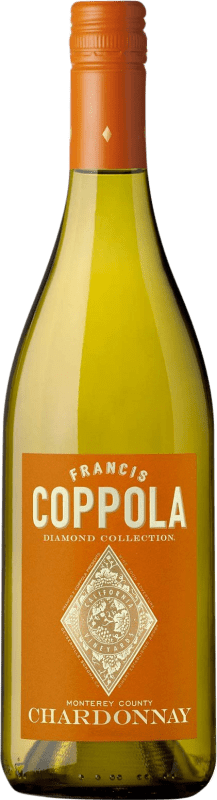 19,95 € Free Shipping | White wine Francis Ford Coppola Diamond Crianza I.G. California California United States Chardonnay Bottle 75 cl