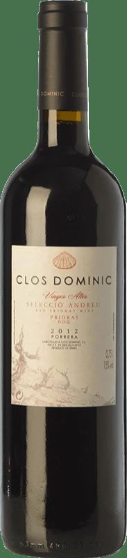 67,95 € Free Shipping | Red wine Clos Dominic Vinyes Altes Selecció Andreu Crianza D.O.Ca. Priorat Catalonia Spain Carignan Bottle 75 cl