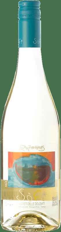 12,95 € Free Shipping | White wine Franz Haas Sofi I.G.T. Vigneti delle Dolomiti Trentino Italy Müller-Thurgau Bottle 75 cl