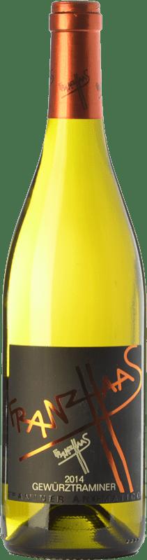 18,95 € Free Shipping | White wine Franz Haas D.O.C. Alto Adige Trentino-Alto Adige Italy Gewürztraminer Bottle 75 cl