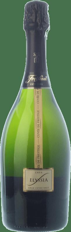 12,95 € Free Shipping   White sparkling Freixenet Elyssia Gran Cuvée Brut D.O. Cava Catalonia Spain Pinot Black, Macabeo, Chardonnay, Parellada Bottle 75 cl